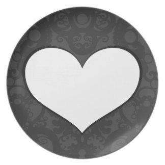 The Heart I Dinner Plate
