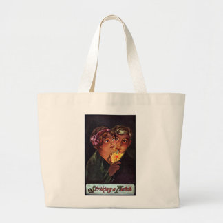 The Heart is a Match Jumbo Tote Bag