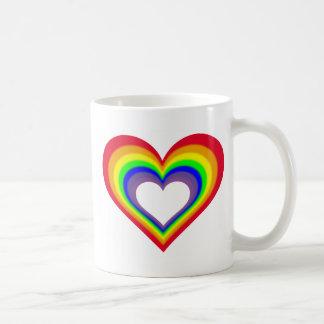 The Heart of Colors Coffee Mug