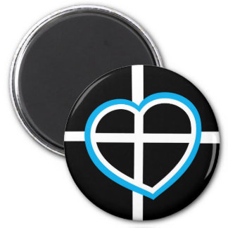 The heart of Cornwall Magnet