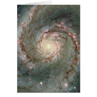 The Heart of the Whirlpool Galaxy Card