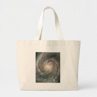 The Heart of the Whirlpool Galaxy Jumbo Tote Bag