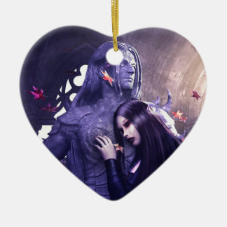 The Heartbeat of Stone Christmas Ornament