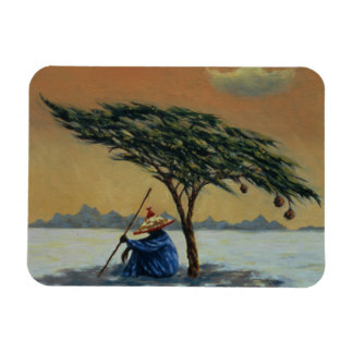 The Heat of the Day 1993 Rectangular Photo Magnet
