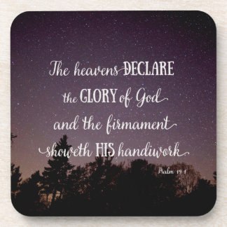 The Heavens Declare the Glory of God Coaster