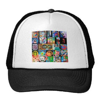 The Hebrew alphabet - alephbet Hat
