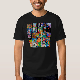 The Hebrew alphabet - alephbet Shirts