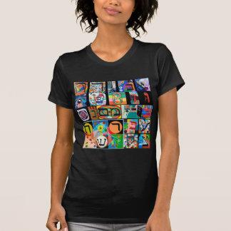 The Hebrew alphabet - alephbet T-Shirt