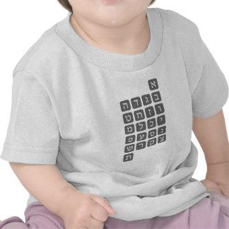 The Hebrew Alphabet Shirt