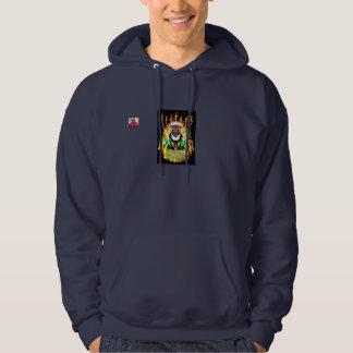 The Hebrew Messiah Men's Basic Hooded Sweatshirt