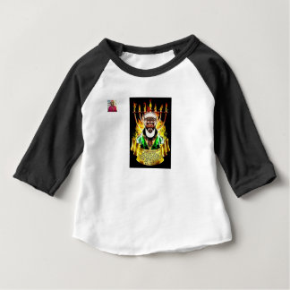 The Hebrews Messiah Baby 3/4 Sleeve Raglan T-Shirt