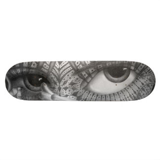 The Heliotroped Board Custom Skate Board