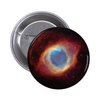 The Helix Nebula 6 Cm Round Badge