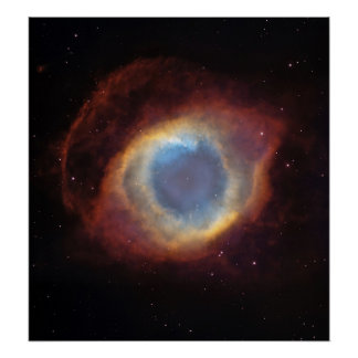 The Helix Nebula: a Gaseous Envelope Expelled By a Poster