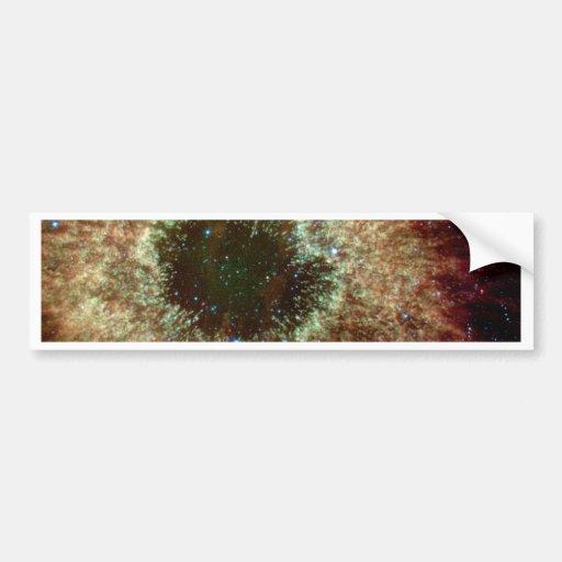 The Helix Nebula Bumper Sticker