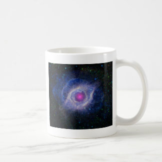 The Helix Nebula: Unraveling at the Seams Basic White Mug