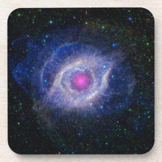 The Helix Nebula Unraveling at the Seams Drink Coasters