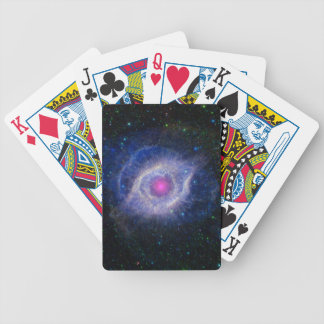 The Helix Nebula Unraveling at the Seams Bicycle Playing Cards