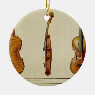The Hellier violin made by Antonio Stradivarius (c Christmas Ornament