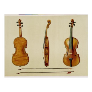 The Hellier violin made by Antonio Stradivarius (c Postcard