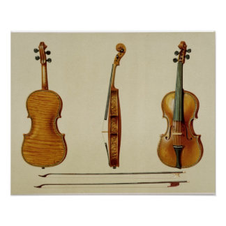 The Hellier violin made by Antonio Stradivarius (c Poster