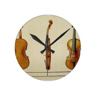 The Hellier violin made by Antonio Stradivarius (c Round Clock