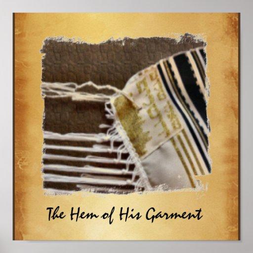 The Hem Of His Garment Poster