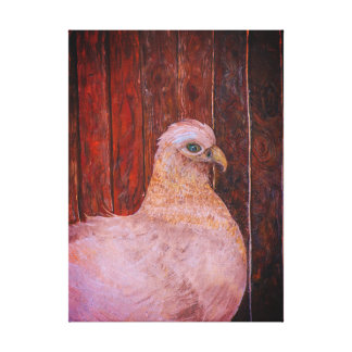 The Hen Chick Canvas Print