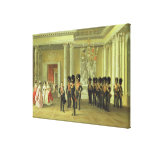 The Heraldic Hall in Winter Palace, St Gallery Wrap Canvas