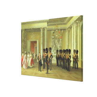 The Heraldic Hall in Winter Palace, St Canvas Print