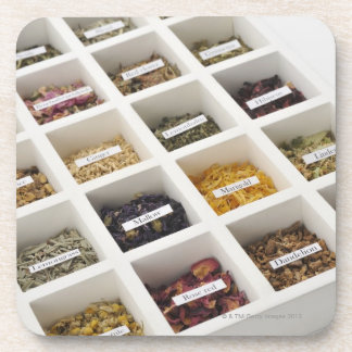 The herbs which a box contains coaster