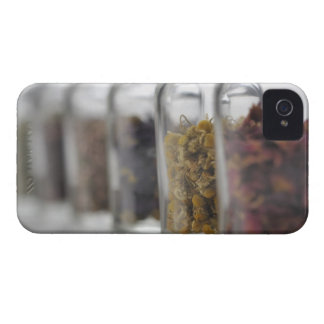 The herbs which a glass bottle contains iPhone 4 Case-Mate case