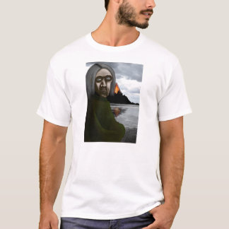 The Hermit With Hair- Original Artwork T-Shirt