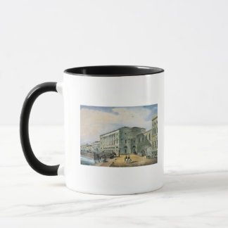 The Hermitage Theatre as Seen from Vassily Mug
