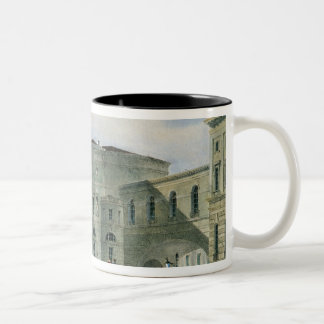 The Hermitage Theatre as Seen from Vassily Two-Tone Coffee Mug
