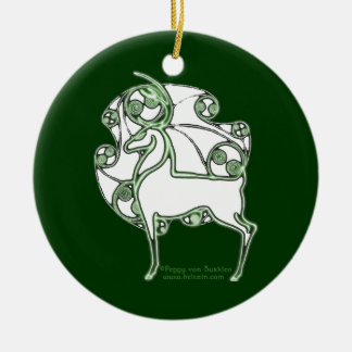 The Herne Celtic Deer ornament
