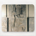 The hero Gilgamesh holding a lion Mouse Pad