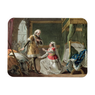 The Heroic Devotion of Marguerite of Provence (121 Rectangular Photo Magnet