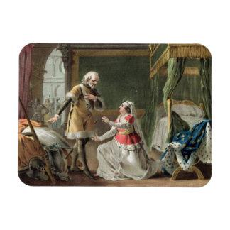 The Heroic Devotion of Marguerite of Provence (121 Rectangular Photo Magnet