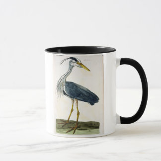 The Heron (Ardea cinerea) plate from 'The British Mug