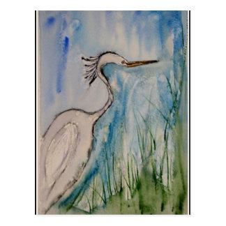 """ The Heron"" Postcard"