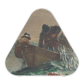 The Herring net, 1885 (oil on canvas)