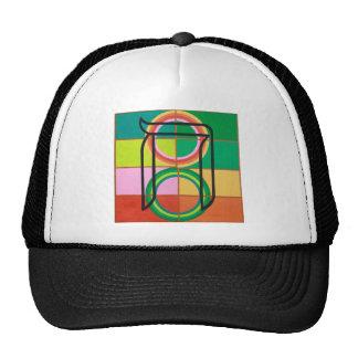 The Het Letter - Hebrew alphabet Trucker Hats