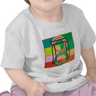 The Het Letter - Hebrew alphabet Tee Shirts