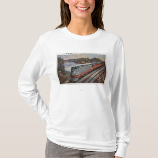 The Hiawatha Streamline Train T-Shirt