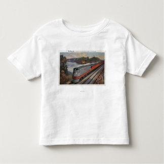 The Hiawatha Streamline Train Toddler T-Shirt
