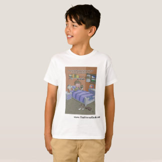 The Hiccup Book - kids tagless t-shirt