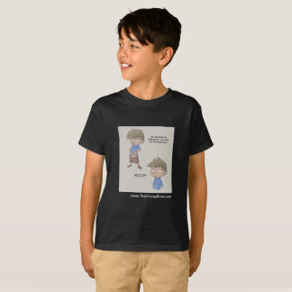 The Hiccup Book - kids tagless t-shirt - Belly