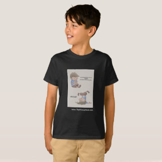 The Hiccup Book - kids tagless t-shirt - Toe
