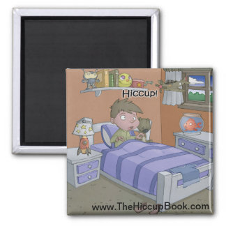The Hiccup Book magnet - Sam